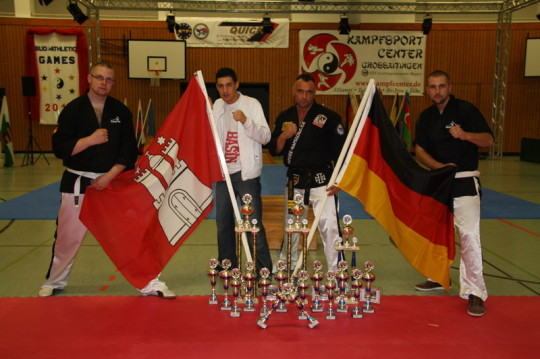 Fight House Hamburg, Tae-Kwon-Do, Budo-Athletik-Games